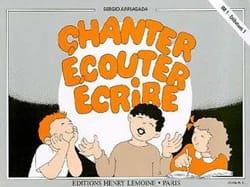 Chanter, écouter, écrire - Elève - Sergio Arriagada - laflutedepan.com