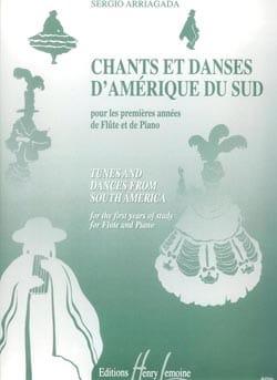 Sergio Arriagada - Chants et Danses d'Amérique du Sud – Flûte piano - Partition - di-arezzo.fr