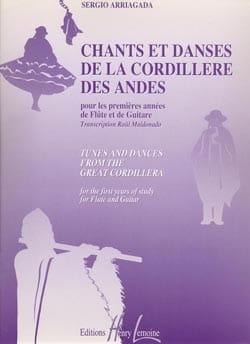 Chants et danses de la Cordillère des Andes - Flûte Guitare - laflutedepan.com