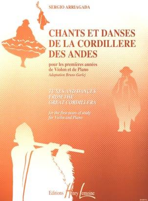 Chants et danses de la Cordillère des Andes - Violon laflutedepan