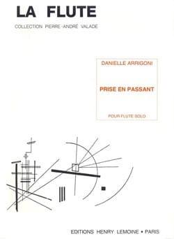 Prise en passant - Flute solo - Danielle Arrigoni - laflutedepan.com