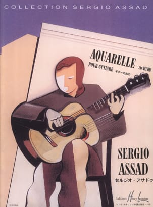 Sergio Assad - acquerello - Partitura - di-arezzo.it