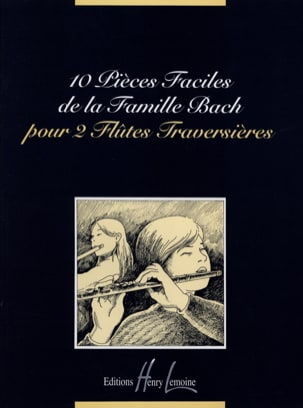 Famille Bach - 10 Easy Pieces of the Bach Family - 2 Flutes - Sheet Music - di-arezzo.co.uk