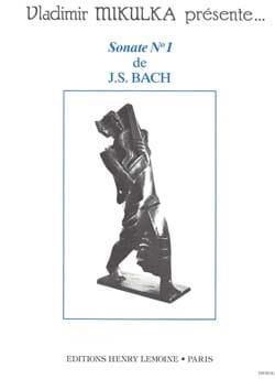 Sonate N° 1 - Johann Sebastian Bach - Partition - laflutedepan.com