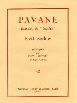 Pavane – Flûte piano - Fred Barlow - Partition - laflutedepan.com