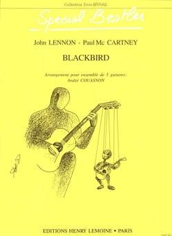 Blackbird - 5 Guitares - Beatles - Partition - laflutedepan.com
