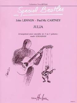 Julia - 4/5 Guitares Beatles Partition Guitare - laflutedepan