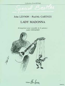 Lady Madonna - 6 Guitares The Beatles Partition Guitare - laflutedepan