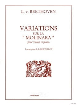 BEETHOVEN - Variations on the Molinara - Sheet Music - di-arezzo.co.uk