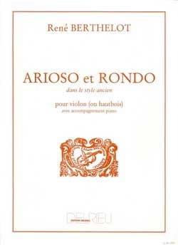 René Berthelot - Arioso and Rondo - Sheet Music - di-arezzo.co.uk
