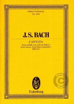 Cantata Jesus Schläft, Was Soll Ich Hoffen ? BWV 81 - laflutedepan.com