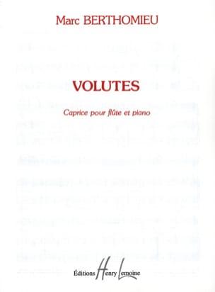 Volutes - Marc Berthomieu - Partition - laflutedepan.com