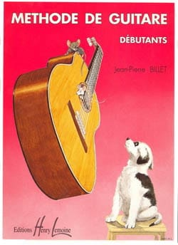 Jean-Pierre Billet - Beginners guitar method - Sheet Music - di-arezzo.co.uk
