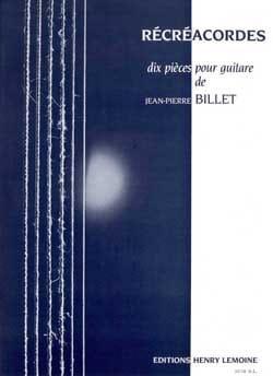 Récréacordes - Jean-Pierre Billet - Partition - laflutedepan.com