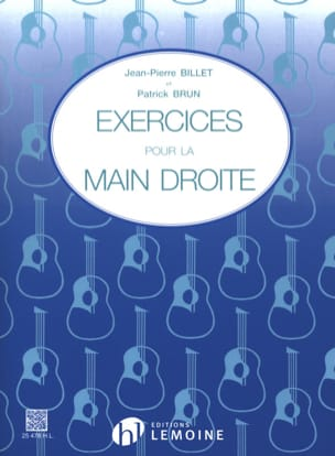Billet Jean-Pierre / Brun Patrick - Exercises for the right hand - Sheet Music - di-arezzo.co.uk