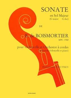 BOISMORTIER - Sonata in G major - Sheet Music - di-arezzo.co.uk
