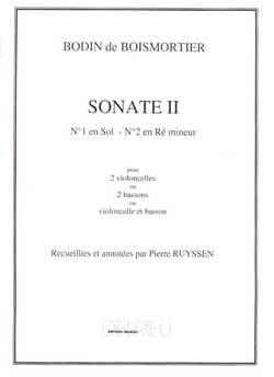 Sonate n° 2 en ré mineur – 2 Violoncelles - laflutedepan.com