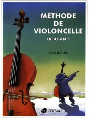 Odile Bourin - Cello Method - Sheet Music - di-arezzo.co.uk
