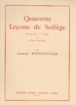 Armand Bournonville - 40 Lessons 2 Keys - Volume 2 A / A - Sheet Music - di-arezzo.com