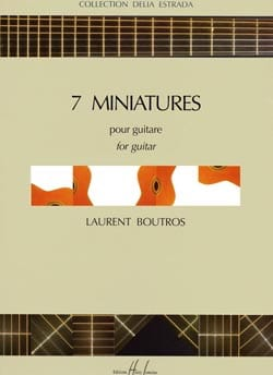Laurent Boutros - 7 Miniatures - Partition - di-arezzo.fr