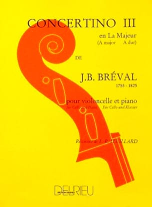 Jean-Baptiste Bréval - Concertino No. 3 in The Greater - Sheet Music - di-arezzo.co.uk