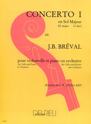 Jean-Baptiste Bréval - Cello Concerto No. 1 in G major - Sheet Music - di-arezzo.com