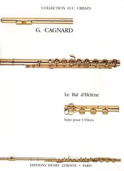 Le bal d'Hélène - Gilles Cagnard - Partition - laflutedepan.com