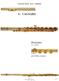 Portraits (1er cahier) - Gilles Cagnard - Partition - laflutedepan.com