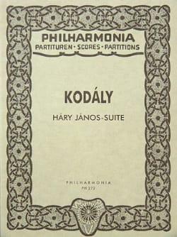 Hary Janos-Suite - Partitur Zoltán Kodály Partition laflutedepan