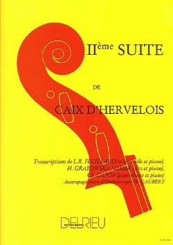 d'Hervelois Louis de Caix - Suite n° 2 – Alto - Partition - di-arezzo.fr