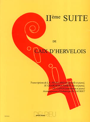 d'Hervelois Louis de Caix - Suite N ° 2 - Sheet Music - di-arezzo.co.uk