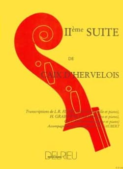 d'Hervelois Louis de Caix - Suite n ° 2 - Double bass - Sheet Music - di-arezzo.com