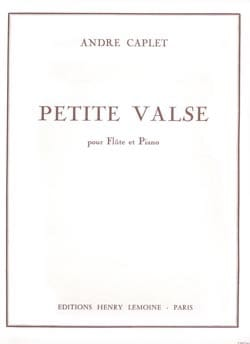 André Caplet - Little Waltz - Piano Flute - Sheet Music - di-arezzo.co.uk
