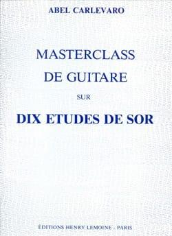 Masterclass : 10 Etudes de Sor - laflutedepan.com