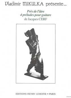 Près de l'âtre - Jacques Cerf - Partition - Guitare - laflutedepan.com