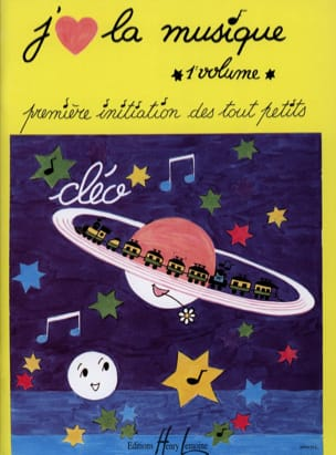 Cléo - J'aime la Musique Volume 1 - Sheet Music - di-arezzo.co.uk