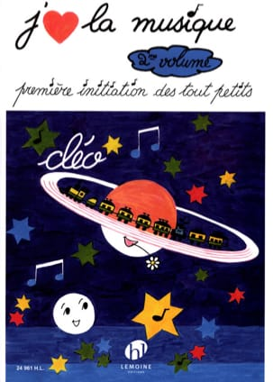 Cléo - I like Music Volume 2 - Sheet Music - di-arezzo.com