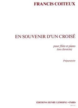 Francis Coiteux - En souvenir d'un croisé - Partition - di-arezzo.fr
