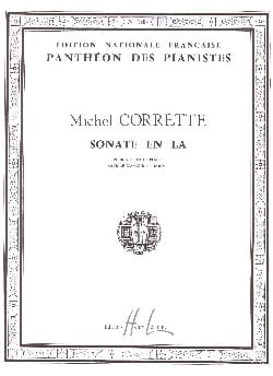 Michel Corrette - Sonata in La - Sheet Music - di-arezzo.com