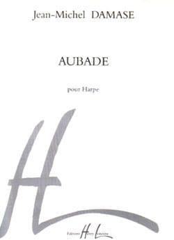 Aubade Jean-Michel Damase Partition Harpe - laflutedepan