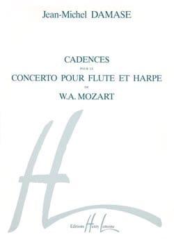 Mozart Wolfgang Amadeus / Damase Jean-Michel - Cadences pour le Concerto flûte/harpe KV 299 –Flûte harpe - Partition - di-arezzo.fr