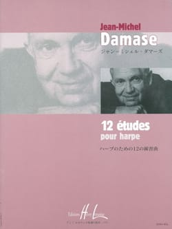 Jean-Michel Damase - 12 Studies For Harp - Sheet Music - di-arezzo.co.uk