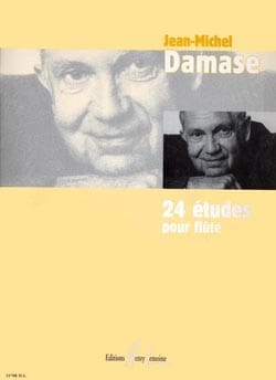 Jean-Michel Damase - 24 Studies for flute - Sheet Music - di-arezzo.co.uk