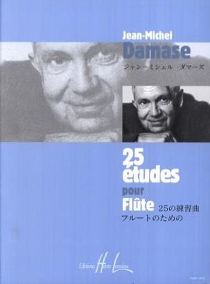 Jean-Michel Damase - 25 Studies for flute - Partition - di-arezzo.com
