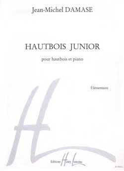 Hautbois junior - Jean-Michel Damase - Partition - laflutedepan.com