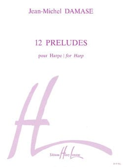 Jean-Michel Damase - 12 Preludes - Sheet Music - di-arezzo.co.uk