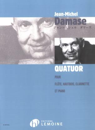 Jean-Michel Damase - Quatuor -Flûte, hautbois, clarinette et piano - Partition - di-arezzo.fr