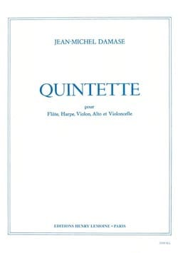Jean-Michel Damase - Quintet - Conductor Parties - Sheet Music - di-arezzo.com