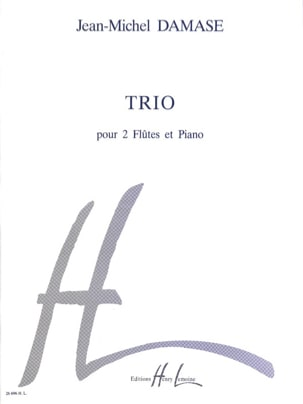 Jean-Michel Damase - Trio – 2 Flûtes piano - Partition - di-arezzo.fr