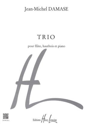 Trio - pour flûte, hautbois et piano Jean-Michel Damase laflutedepan